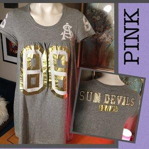 """💋""""PINK""""SUN DEVILS dress or PJs"""